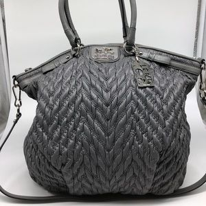 Coach 70th Anniversary Quilted Chevron Satchel